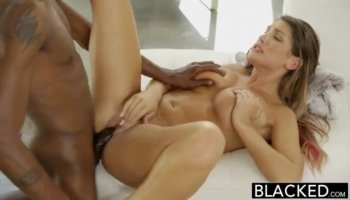 Black girl face and big booty fucking