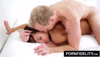 Russian babe gets hardcored